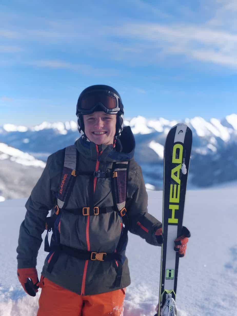Frits Thijs, reisgids skihuttentocht Saalbach-Hinterglemm alpex